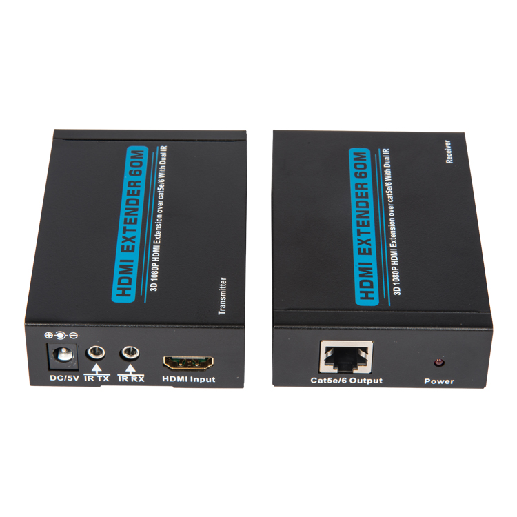 HDMI Extender 60m over lan cable with dual IR